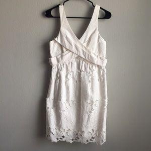 Tibi New York floral cutout lace sleeveless dress,